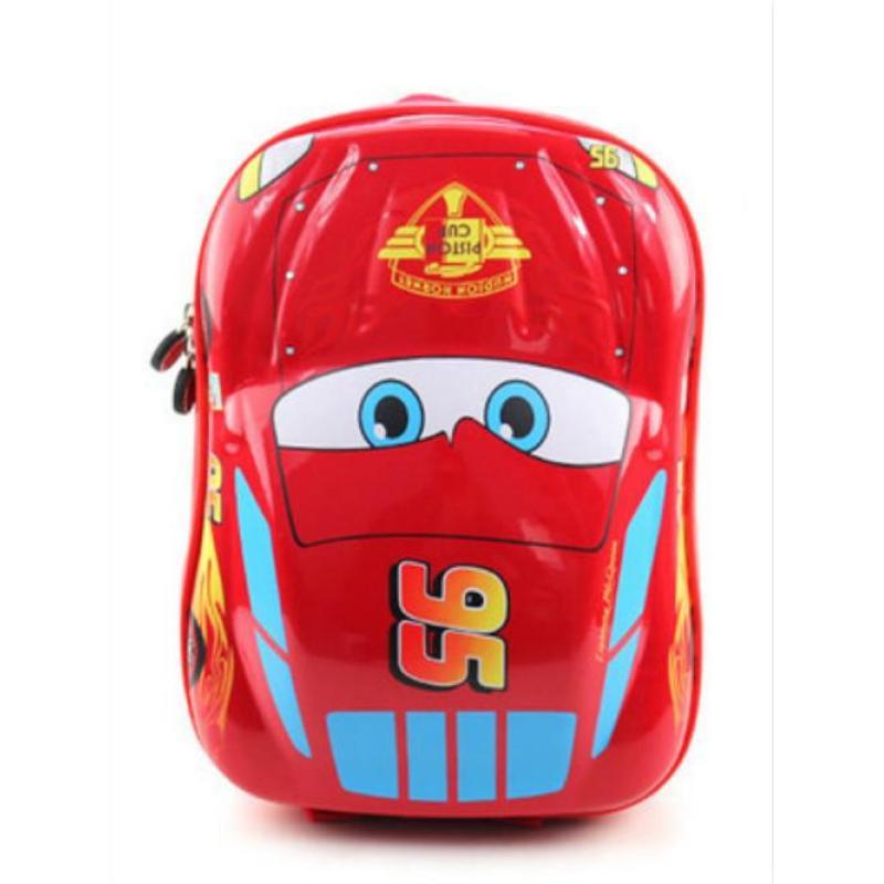 EVA 3D Car Kids School Travel Bag Backpacks(Color:Main Pic) - intl