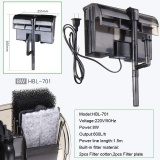 Buy External Hang On Filter Surface Skimmer Mini Nano Aquarium Fish Tank Intl On China