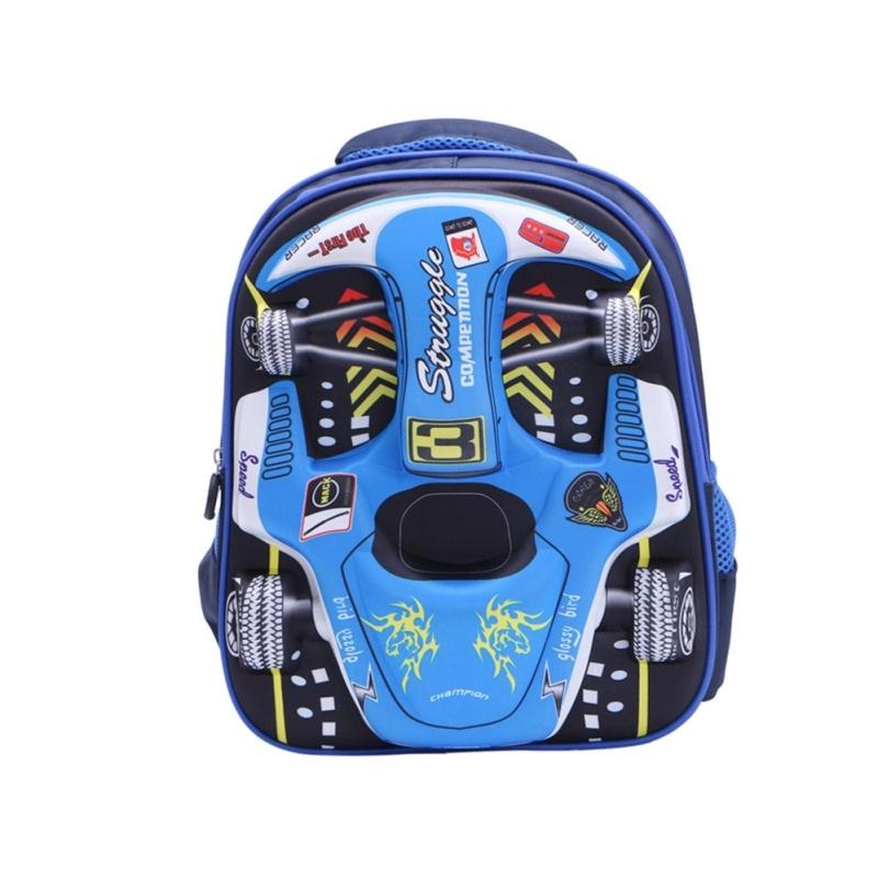 Fashion 3D Cars School Bag Backpack Children Kid Back Pack Boy Girl Bookbag - intl