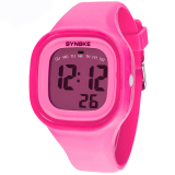 Who Sells The Cheapest Fashion Colorful Kid And Children S Silicone Sport Waterproof Digital Watches Pink 66896 Online