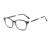 Discount Fashion Glasses Frame Rectangle Glasses Blue Frame Glasses Plastic Frames Plain For Myopia Men Eyeglasses Optical Frame Glasses Intl Mbulon China