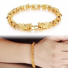 Fashion Gold Plated Bracelet Charm Bracelet Jewelry Men Bracelets Bangles Dragon Gold Plated Bracelet Intl On Line