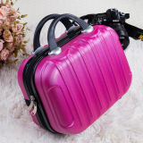 Brand New Fashion Large Capacity Cosmetic Box Female Travel Cosmetic Storage Bag Portable Storage Box 14 Inch Mini Portable Box Tide