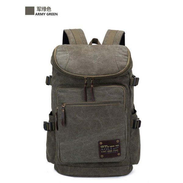 Fashion Outdoors Travel Backpack School Bags Canvas Backpack