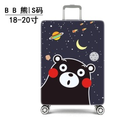 Fashion Pattern Stretchable Elastic Travel Luggage Suitcase Protective Cover Baggage Protective Cover Durable Luggage Cover S Size Suitable For 18 20 Inch Luggage​ Intl China