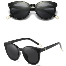 Fashion Retro Women Lady Full Frame Sunglasses - intl