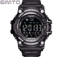 How To Get Fashion Sports Electronic Watch Multi Function Camera Step Bluetooth Waterproof Smart Phone Matching Android Ios Intl