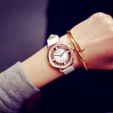 Review Fashion Super Star Dragon Exo Same Section Hollow Watches Unique Stylish Women Men Casual Quartz Wristwatch White Oem