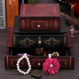Lowest Price Fashionable Book Shape Jewelry Gift Storage Chest Box Case Holder Organizer Intl