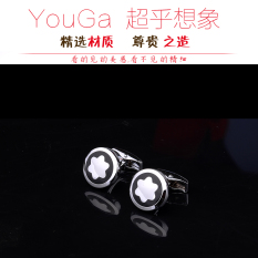 Exquisite Hand-Carved Floral Cufflinks By Taobao Collection.