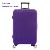 Who Sells Flora Expandable Elasticy 22 24 Inch Waterproof Travel Luggage Protective Cover Purple Intl