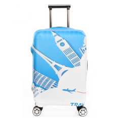 Sale Flora High Fabric Elasticy 18 20 Inch Luggage Cover Suitcase Cover Protector (Cover Only Not Luggage) Online China