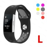 Wholesale For Charge 2 Soft Silicone Adjustable Fashion Sport Strap For Charge2 Replacement Fitness Accessory Wristband With Hole Intl