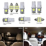 Price For Lexus Is 2006 2012 Convenience Bulbs Car Led Interior Light C10W W5W Replacement Bulbs Dome Map Lamp Light Bright White 10 Pcs Per Set Intl Good For You Supplements Online