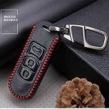 How To Buy For Mazda M3 Cx 5 Cx 5 Axela Genuine Leather Carve Car Keychain Key Case Cover Wallet 3Buttoms Intl