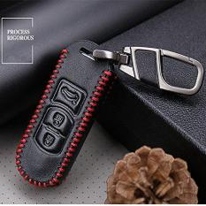 Sale For Mazda M3 Cx 5 Cx 5 Axela Genuine Leather Carve Car Keychain Key Case Cover Wallet 3Buttoms Intl Online China