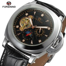 Get The Best Price For Forsining 1132 2017 Forsining Diamond Automatic Watches Men S Luxury Brand Casual Style Watch Luminous Business Genuine Leather Band Watch Intl