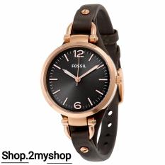 Best Rated Fossil Lady Leather Strap Es3077 Provide After Sale At Our Retail Shop