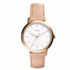 bdcdc2409 Fossil Ladies' Neely Three-Hand Sand Leather Strap Watch ES4185