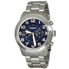 Shop For Fossil Pilot Navy Blue Dial Fs5203 Intl