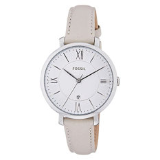 Fossil Women S Es3793 Jacqueline Stainless Steel Watch With Leather Band Intl Shopping