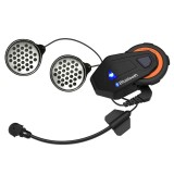 Best Offer Freedconn T Max Bluetooth 4 1 Helmet Intercom System 1500M Wireless Motorcycle Headset Ipx65 Dust Proof Waterproof 6 Riders Full Duplex Interphone W Fm Radio Intl