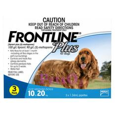Frontline Plus For Dogs 10 20Kg 6 Doses Reviews