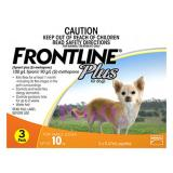 New Frontline Plus For Dogs Below 10Kg 3 Doses