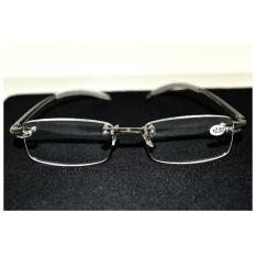 Great Deal Gafas De Lectura Two Pairs Rimless Frameless Light Antislip Men Women Reading Glasses Case 2 00