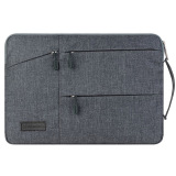 Price Gearmax Notebook Bag For Macbook Air Pro 13 3 Inch With Handle Fabric Cover Protective Briefcase Gray China