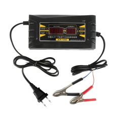 Genuine 12V 6A Smart Car Motorcycle Battery Charger Lcd Display Battery Charger Intl Compare Prices