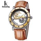 Top 10 Genuine Ik 2017 Tourbillon Automatic Mechanical Men S Watches Full Stainless Steel Watch Fashion Watch Male Relogios Masculino 4267 Intl