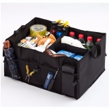 Buy George Store Hot Sell Car Boot Storage Black Folding Trunk Organizer Black Intl Cheap On China