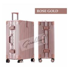 Geraldine Tsa Approved Lock 26 Inch Classic Timeless Luggage Rose Gold Compare Prices