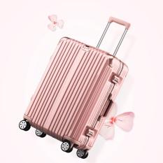 How Do I Get Geraldine Tsa Approved Lock Basic 26 Inch Luggage Rose Gold