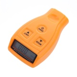 Buy Gm200 Coating Painting Film Zinc Plating Thickness Gauge Tester Yellow Intl Cheap On China