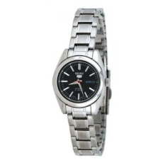 GPL/ Seiko 5 #SYMK17K1 Womens Black Dial Self Winding Automatic Watch/ship from USA - intl