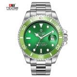Who Sells Green Men Watches Tevise Automatic Mechanical Watch Luxury Brand Waterproof Luminous Men Watch Calendar Clock Relogio Masculino Intl