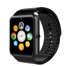 Cheapest Gt08 Full Touch Control Smart Watch Remote Phone Pedometer Call Reminder Bluetooth3 With Sim Card Slot Intl
