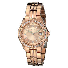 Price Guess Women S U11069L1 Sporty Chic Rose Gold Tone Mid Size Watch Intl Online South Korea