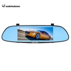 Sale Hd 1080P Dual Lens 7In Rear View Mirror Car Dvr Dash Cam Intl Vakind Cheap