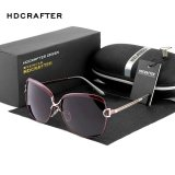 Sale Hdcrafter Fashion Classic Style Women S Polarized Sunglasses Brown Intl On China