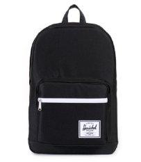 Low Price Herschel Supply Co Pop Quiz Backpack Black Black Pu