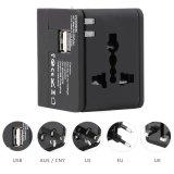 Hht148 Multifunctional Travel Adapter International Plug Dual Usb Charging Port Universal Ac Socket Intl Price Comparison