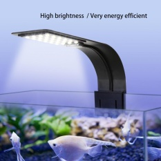 Buying High Brightness Led Aquarium Light Plants Grow Fish Tank Clip Lamp Lighting Black Intl