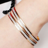 Best Reviews Of Hks Scrub Shimmering 18K Gold Bracelet Bangle A Pair Export