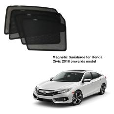 Sale Honda Civic 2016 Onwards Magnetic Sunshade On Singapore
