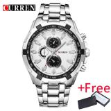 Where To Shop For Hot 2017 Curren Watches Men Quartz Topbrand Analog Military Male Watches Men Sports Army Watch Waterproof Relogio Masculino 8023 Intl