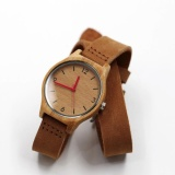 The Cheapest Hot Sale The New Leather Bamboo Wooden Watches Intl Online