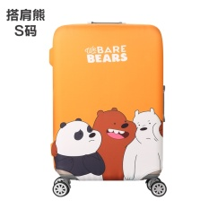 Hot Sell Cartoon Pattern Fashion Painting Stretchable Elastic Travel Luggage Suitcase Protective Cover Waterproof Baggage Protective Cover Durable Luggage Cover 20 24 26 28 Inch S M L Xl 4 Sizes Available Intl In Stock
